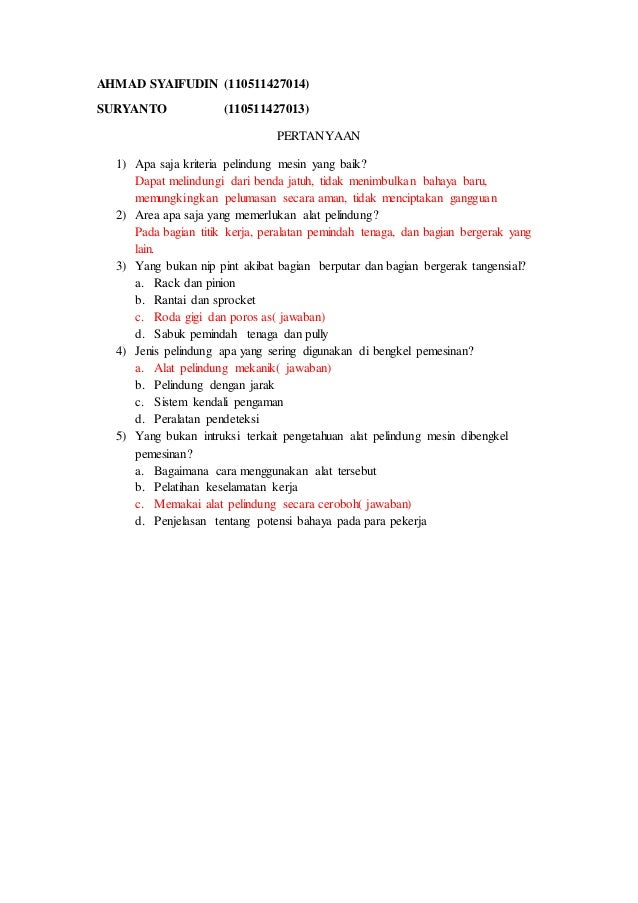 Contoh Soal Ergonomi Pilihan Ganda Contoh Soal Dan Materi Pelajaran 7