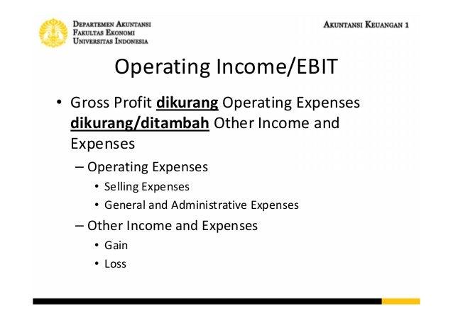 Statement Of Comprehensive Income