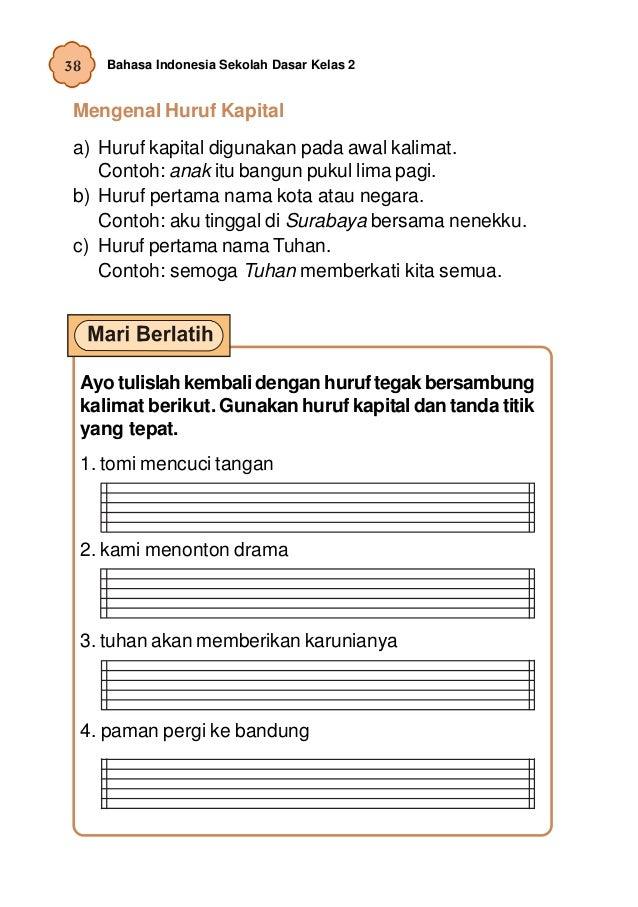Bahasa Indonesia Kelas 2