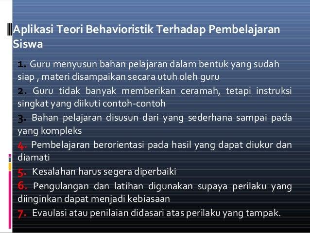 Teori Belajar Dan Pembelajaran Paud