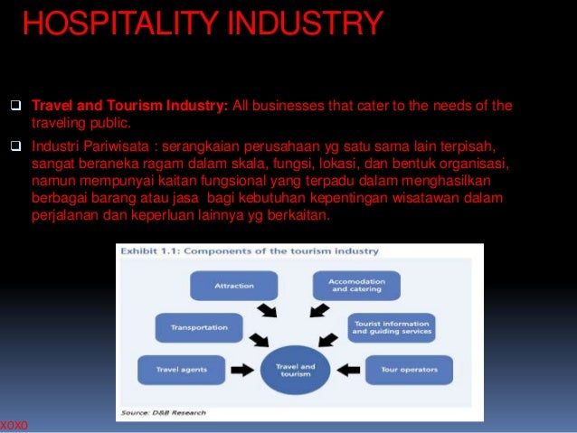 HOSPITALITY INDUSTRY  Travel and Tourism Industry: All businesses that cater to the needs of the traveling public.  Indu...