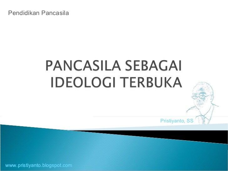 Pristiyanto, SS Pendidikan Pancasila www.pristiyanto.blogspot.com