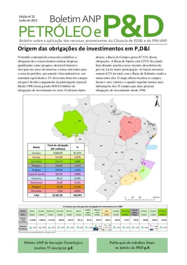 Origem das obrigações de investimentos em P,D&I O modelo contratual de concessão estabelece a obrigação de o concessionári...