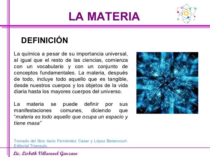 Materia y sus propiedades for Inmobiliaria definicion