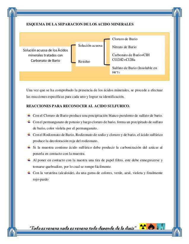 Materia de Toxico II Hemisemetre Toxicologia