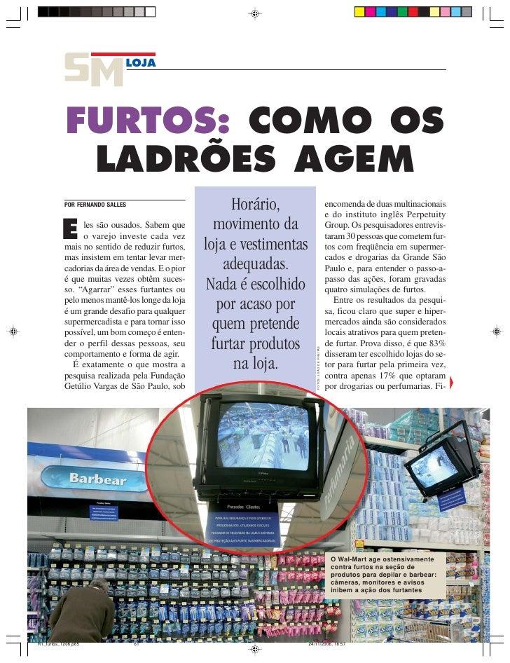 LOJA     FURTOS: COMO OS  LADRÕES AGEM POR FERNANDO SALLES                          Horário,                              ...