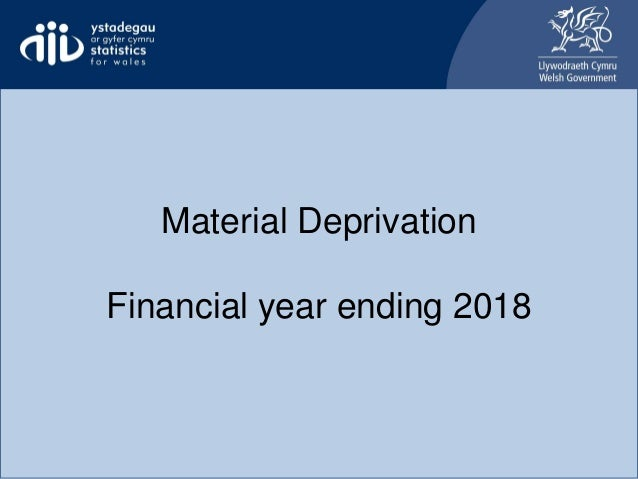 Material Deprivation Financial year ending 2018