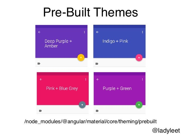 An Introduction Into Using Angular's Material Design