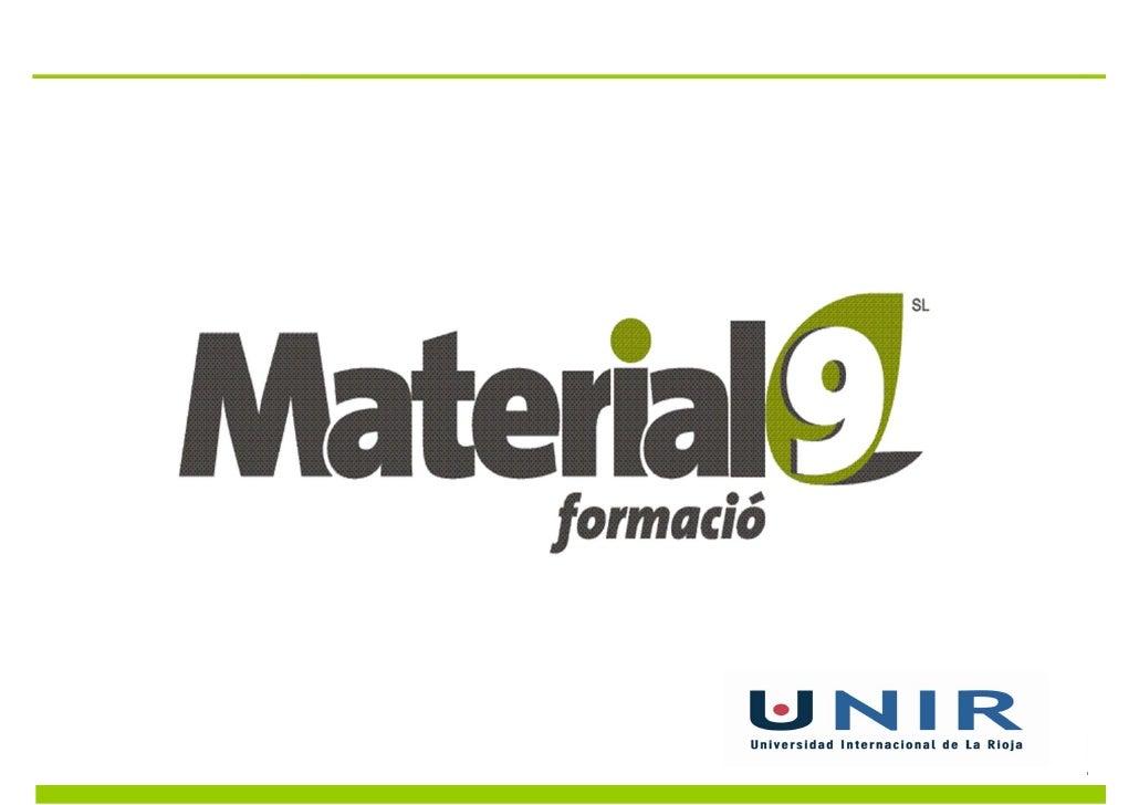 Material9 neix dun ambiciós projecte emmarcat en làmbit de                   la consultoria, la formació i la innovació. J...