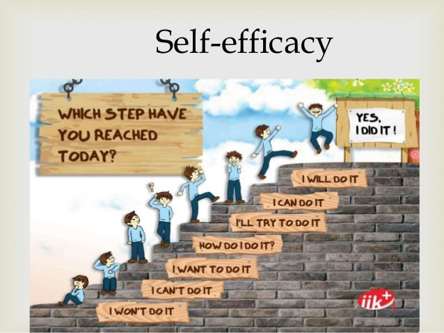 self-efficacy / self-efıkəsi (noun)   the belief in one's capabilties to organize If you want to be a scientist, your sel...