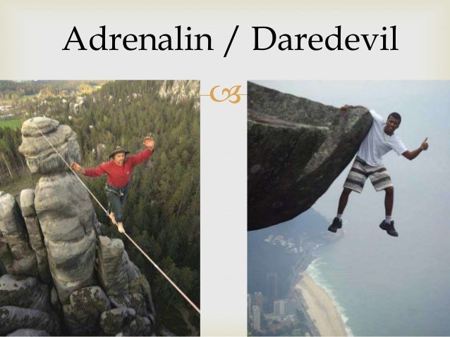 adrenalin / ədrenəlın (noun)   A chemical produced by your body when you are afraid, angry or excited, which makes your h...
