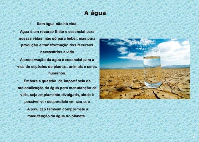 Material Agua E Vida