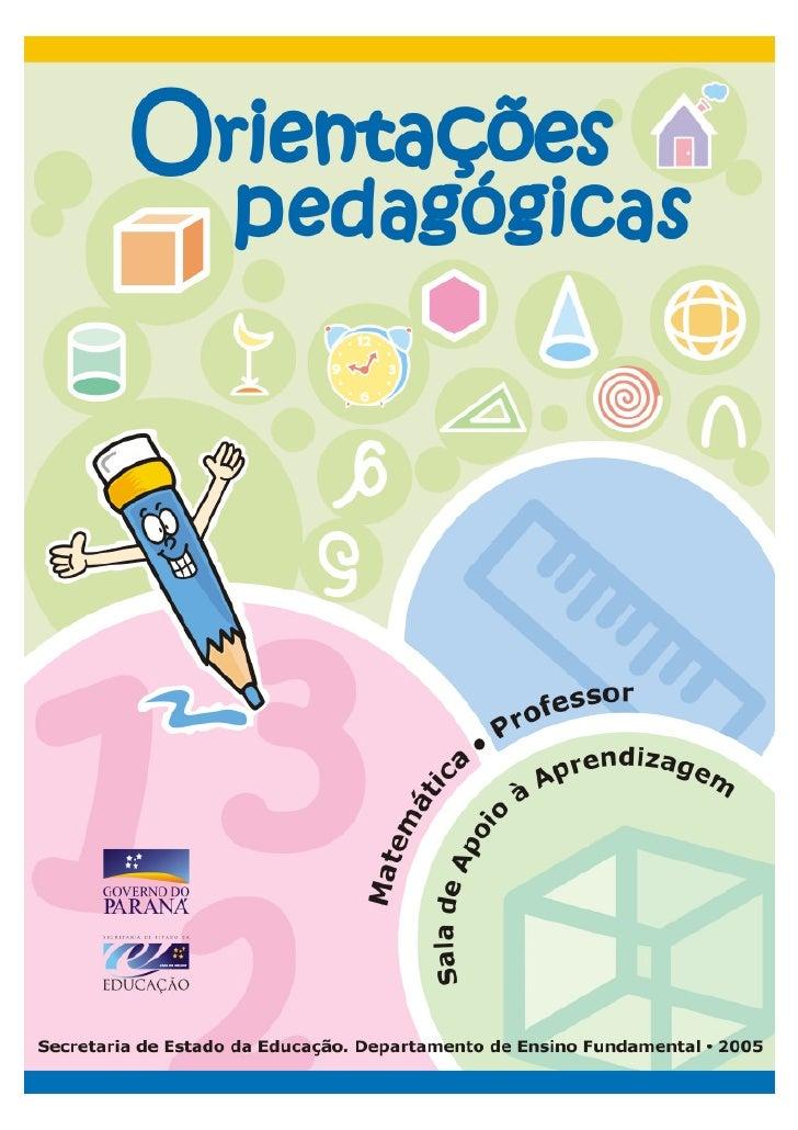 GOVERNO DO PARANÁ      SECRETARIA DE ESTADO DA EDUCAÇÃO        SUPERINTENDÊNCIA DA EDUCAÇÃO     DEPARTAMENTO DE ENSINO FUN...