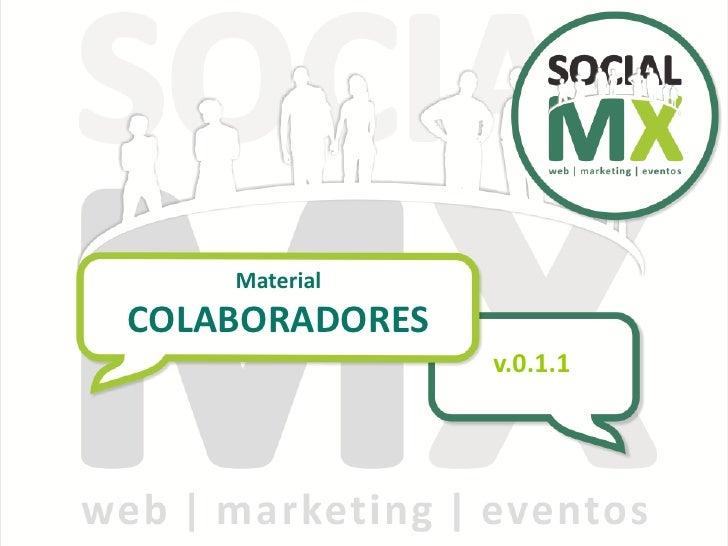 Material COLABORADORES                 v.0.1.1