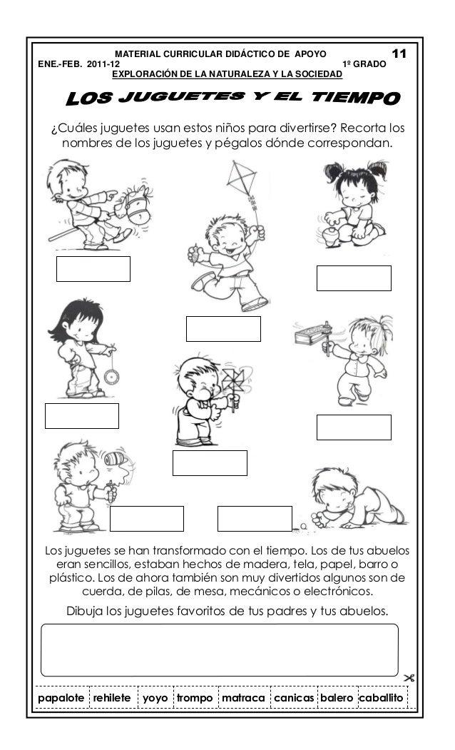 Material curicular enero febrero 2012_PRIMER AÑO DE PRIMARIA