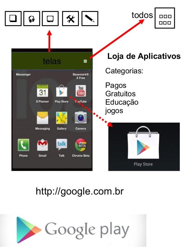     telas  todos     ▦     Loja de Aplicativos Categorias: Pagos Gratuitos Educação jogos  http://google.com.br
