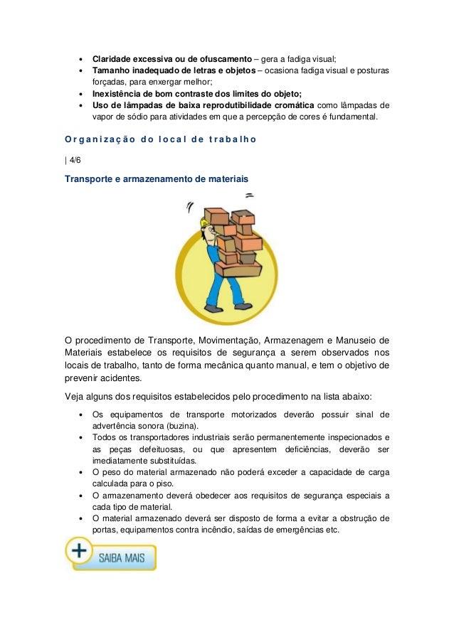 Material curso senai segurança do trabalho - com índice 2125e9bade
