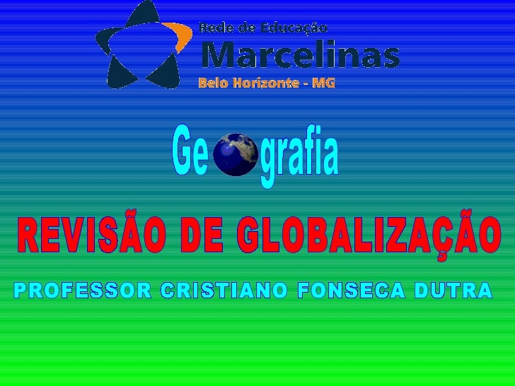 HECATOMBE NUCLEAR       GUERRA FRIA                GLOBALIZAÇÃO MUNDO                            MUNDO BIPOLAR        FIM ...