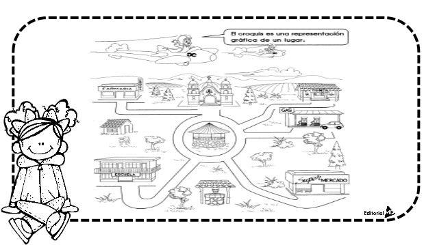 Material de apoyo para primero de primaria for Croquis de casas