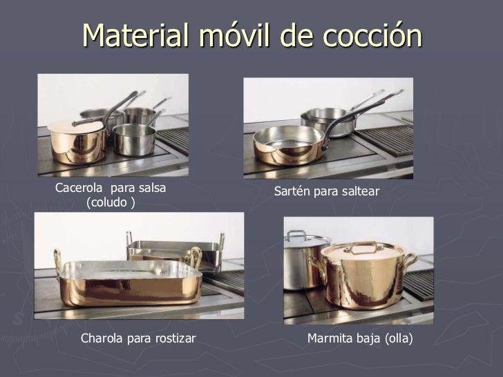 Material de cocina for Articulos de cocina para chef