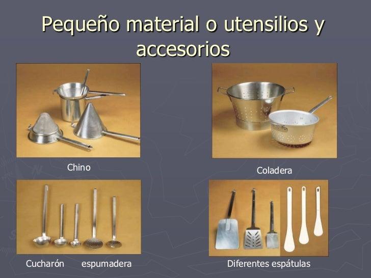 material de cocina