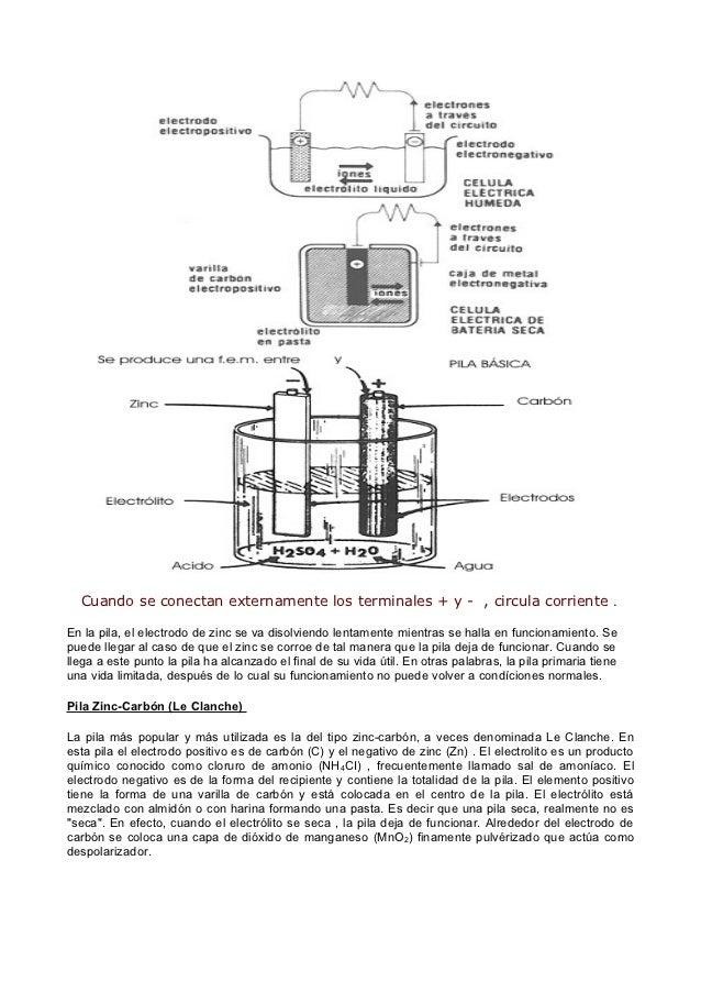 Material de estudio. pilas y baterias. octubre 2012. Slide 3