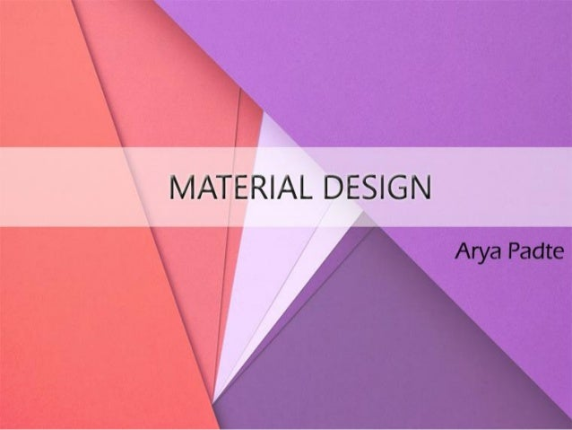 2  This is Material Design