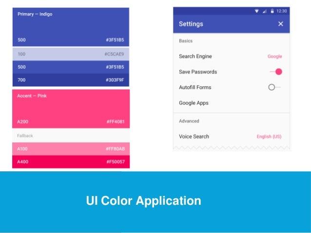 USEFUL Links  UI Color Application