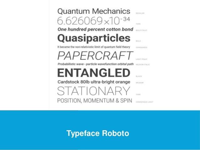 USEFUL Links  Typeface Roboto