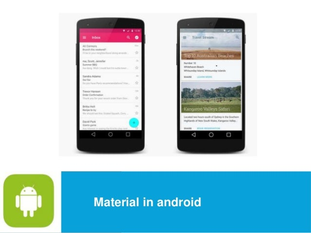 USEFUL Links  Material in android