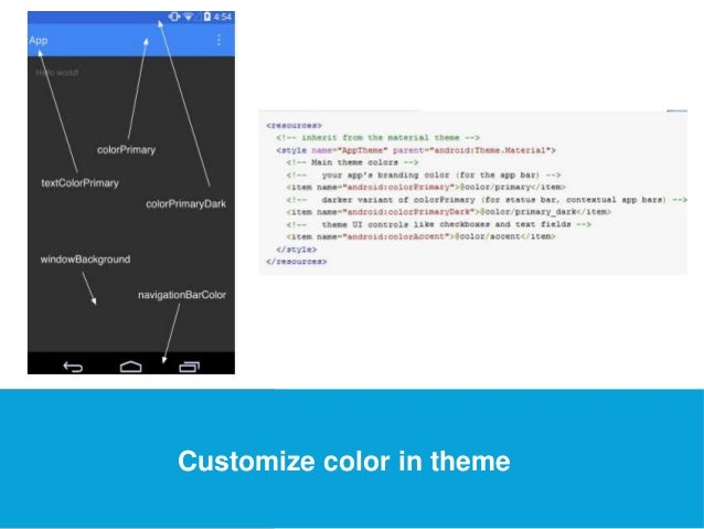 USEFUL Links  Customize color in theme