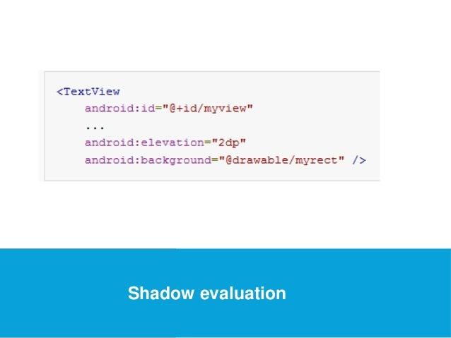 USEFUL Links  Shadow evaluation