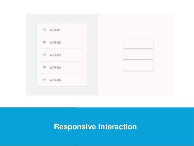 USEFUL Links  Responsive Interaction