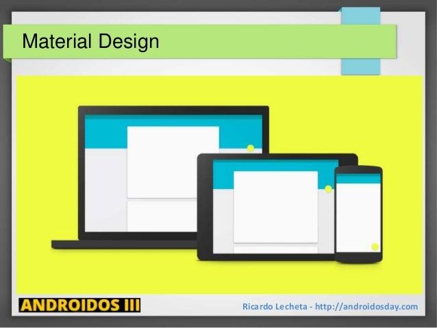 Material Design Ricardo Lecheta - http://androidosday.com