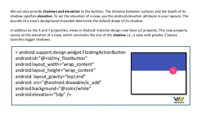 Android Shape Shadow