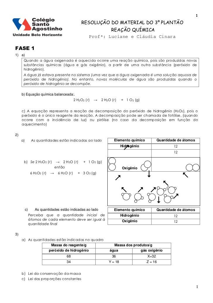 1                                                  RESOLUÇÃO DO MATERIAL DO 3º PLANTÃO                                    ...