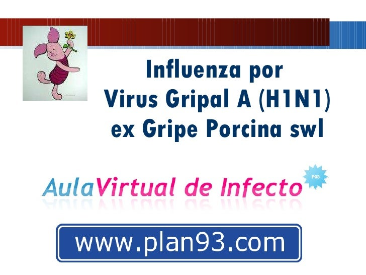 Influenza por  Virus Gripal A (H1N1) ex Gripe Porcina swl