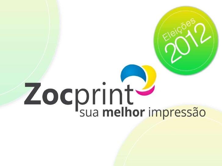 Zocprint - Material Eleições