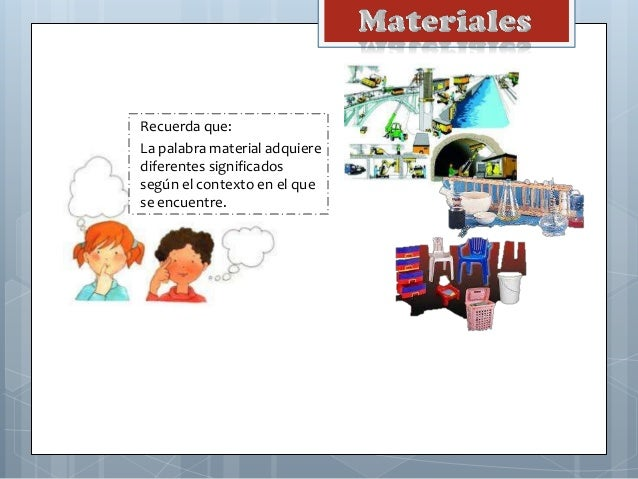 Materiales Slide 2