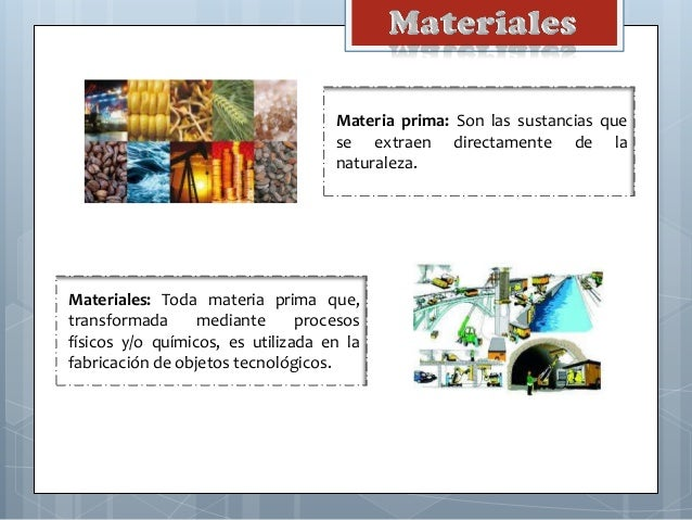 Materiales Slide 3