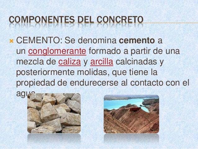     Los elementos minerales principales que debe    contener la materia prima son: El oxido de    Calcio      (CaO), el B...
