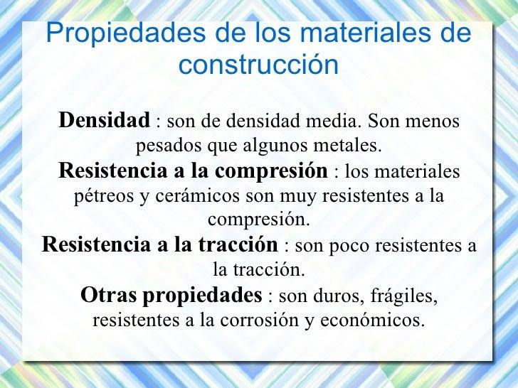 Materiales de construcci n tema 2 - Materiales de construccion baratos ...