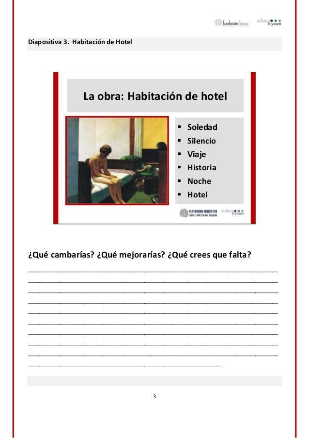 Materiales adaptados habitaci n de hotel for Descripcion de una habitacion de hotel