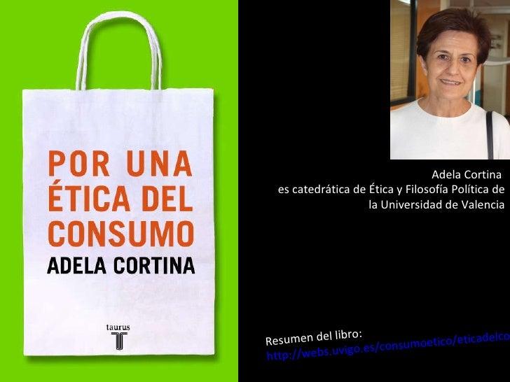 Materiales b sicos para empezar a entender la crisis para alumnos d - Adela cortina libros ...
