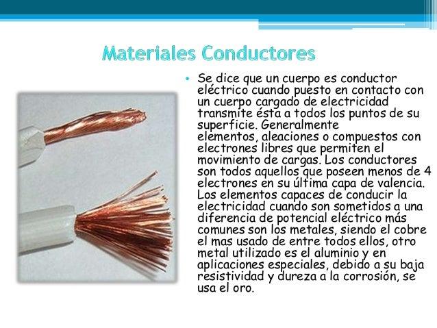 Materiales conductores semiconductores y aislantes - Materiales aislantes del calor ...