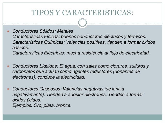 Materiales conductores semiconductores y aislantes - Tipos de aislantes termicos ...