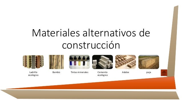 Materiales de construcci n alternativos - Materiales de construccion toledo ...