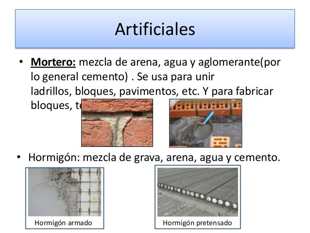 Materiales de construccion for Que es un mortero