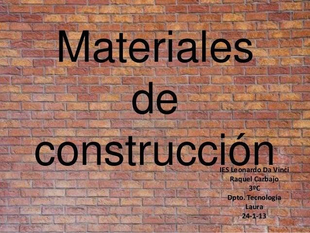 Materiales de construccion 2 - Cano materiales de construccion ...