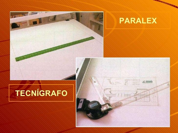 PARALEX TECNÍGRAFO